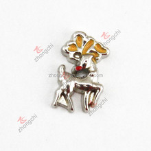 Top sale china supplier deer charms for glass locket