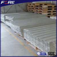 Heat resistant roof translucent panel/fiber corrugated sheet roof made with FRP Gel coat