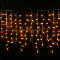 outdoor string lights christmas led icicle lights snowflake icicle lights