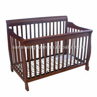 New design wooden baby cot