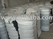 100% COTTON BLUE AND BLACK WASTE AT US$ 0.32/KG 2X40FCL READY SHIPMENT.