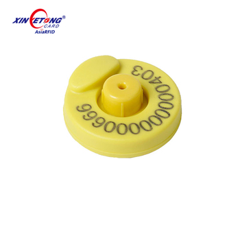 LF RFID Hard Tag for Livestock RFID Animal Ear Tag for Cattle