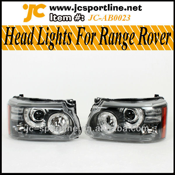 2010-2013 Head Lights For Range Rover Sport LHD
