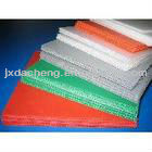correx extruded twin-wall fluted plastic sheet