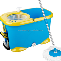 WANXIN 2016 new design quick dry spin mop with pedal