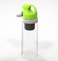 Hot !!!Hot!!! carbon filter water bottle water filter bottle with carabiner BPA free OEM is available