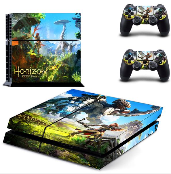 Custom made Waterproof Console Skin for PS4 Sticker for Sony PlayStation 4 and 2 controller skins PS4 slim Stickers