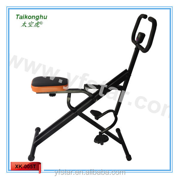 Total body crunch ,pedal exerciser with counter , CE certificate ,XK-005T