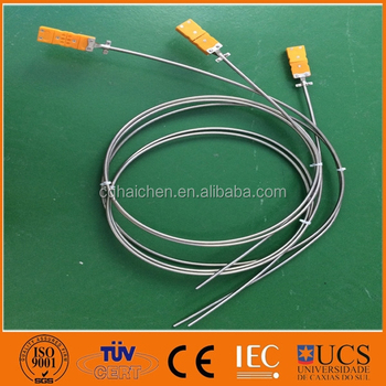 pt100 bendable sheathed platinum rtd sensor