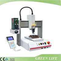 Automatic desktop solder paste dispensing robot
