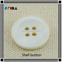 mother of pearl shell button