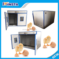 Factory Price Automatic Industrial stainless steel chicken Egg Incubator for 5280 eggs