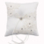 R0576-2 Plain Satin Wedding Pillow/Ring Pillow/Cushion with Lace
