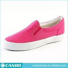 Hot Selling Kids Nude Canvas Shoes 2018