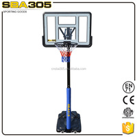 outdoor movable basketball hoops