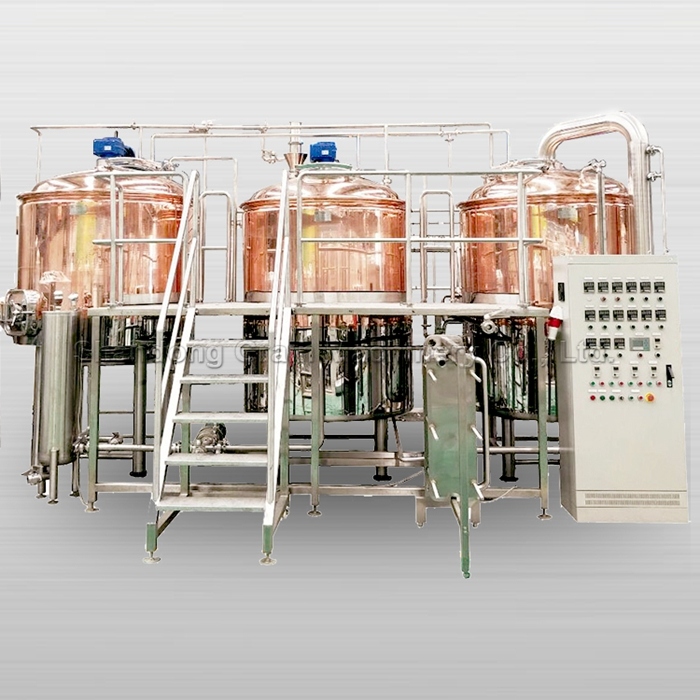 1000 liters red copper brewhouse beer factory beer making equipment brew kettle