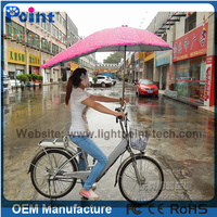 High quality best selling bike umbrella in sunshine and raining