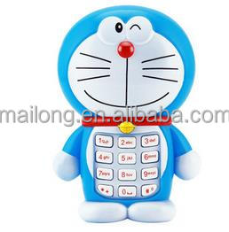 Toy phone baby baby children's early childhood educational toys cartoon phone music songs PN3375