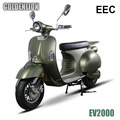 60v 2000w EEC Classic electric motorcycle with lithium battery