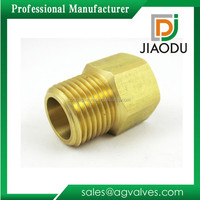 JD-2180 Brass Pipe Female x Male NPT Adapter Fuel Gas Air