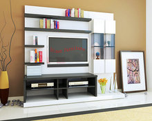 Modern design living room tv stand furniture flat tv wall units