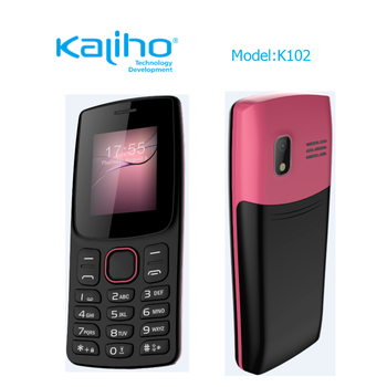 2018 New design 2g feature phone high quality cell phone