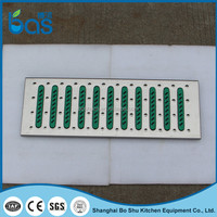 F200 bottom price replace galvanized & stone & concrete & composite material floor grating walkway ditch/drain cover