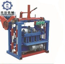 2018 manual concrete cement brick making machine price in India
