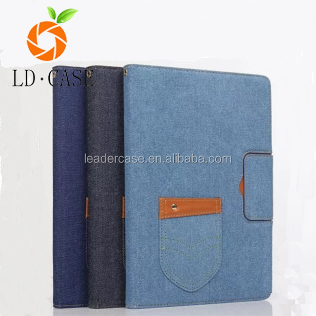 High Quality Fashionable Style Jeans Skin Case For ipad pro9.7