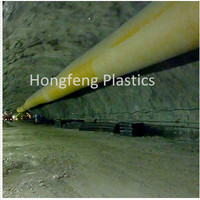 PVC material flexible tube pipe for tunnel ventilation