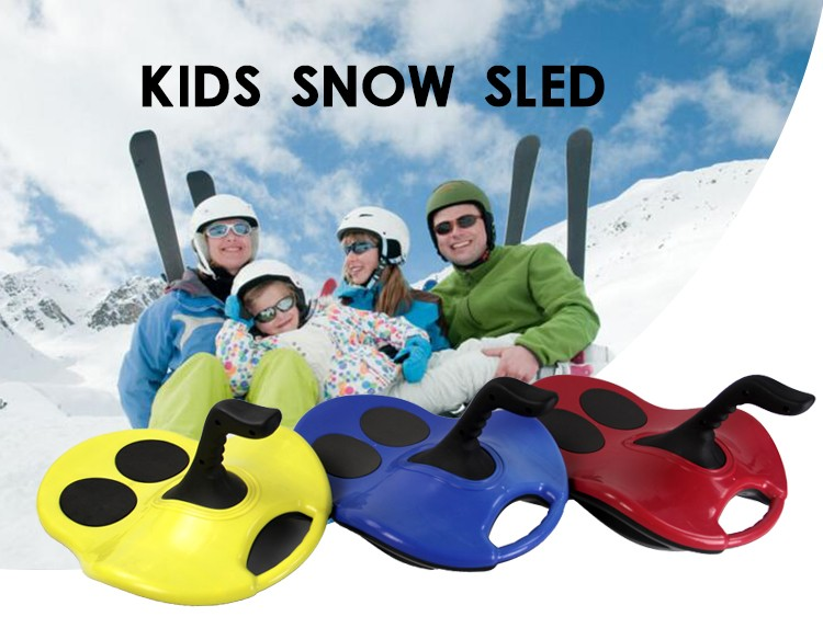 snow sled Christmas gift for kids