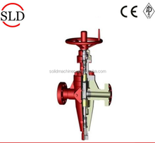 API 6A flange end expansion gate valve