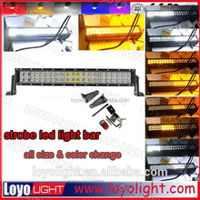 hot sale high power 300w 52inch car led lightbar off road for jeep wrangler