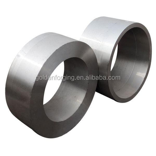 Gear ring machining slewing bering seat custom wool embry engineering machinery forging reduction