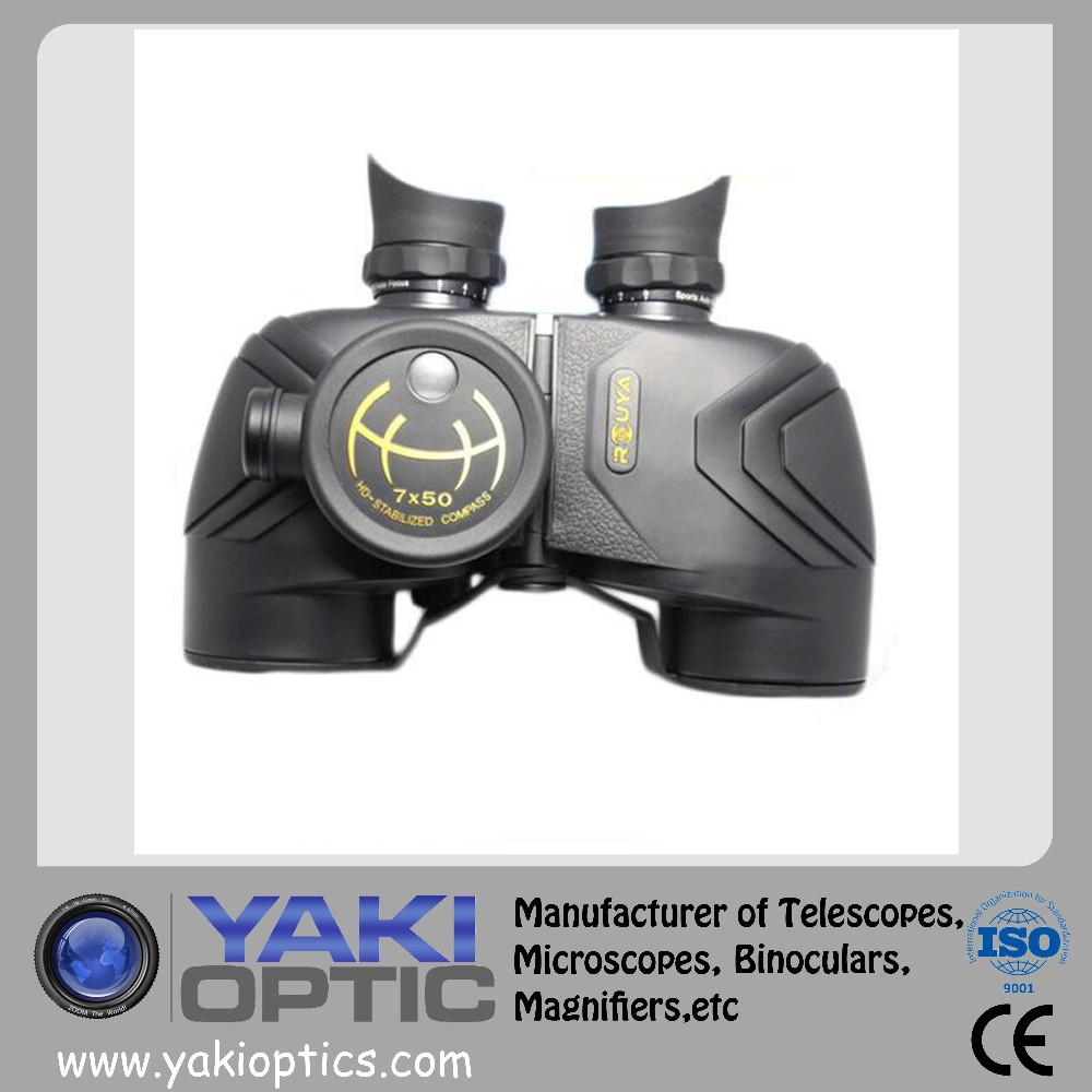 2015 Customized Tactical 7x50 Waterproof Military Black BINOCULARS Range reticle Telescope