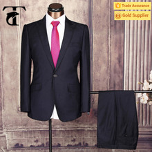 2016 Gold supplier high quality tailor made italian Office Uniform coat pant business men suit