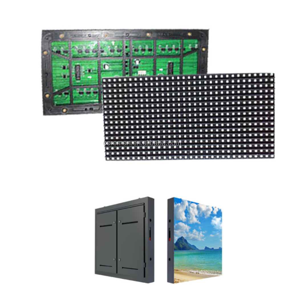 video wall HD SMD 3535 led screen module p10 video panel p10 p12 p16