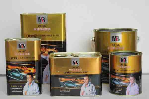 Automotive refinish 2k acrylic car paint coating solid color