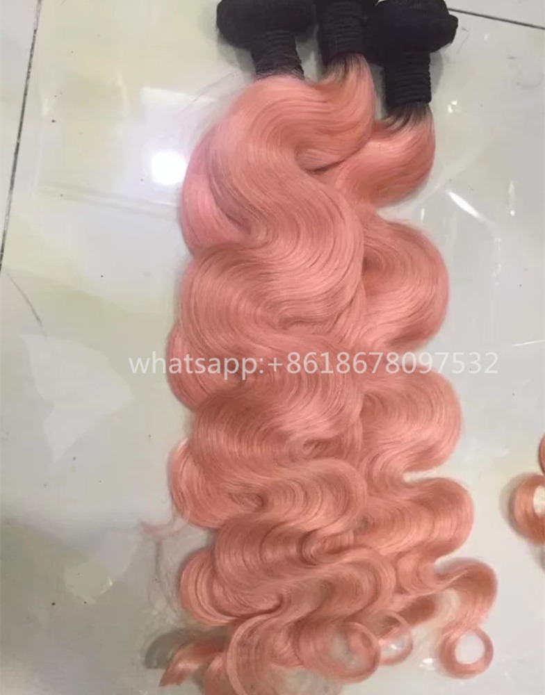 Pink Brazilian Human Hair Weave Most Expensive Remy Hair Buy
