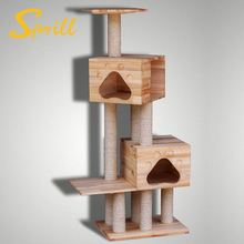 Factory Wholesale Pet Product Made In China Luxurious Cat Tree