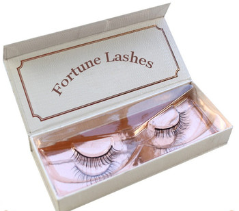 Custom Eyelash Package Messy 3D False Eyelashes Classic Luxurious 100% Siberian Mink Fur Eye Lashes