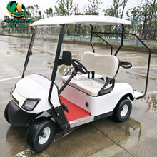 Cheap White 2 Seat Golf Karts with Powered Electric