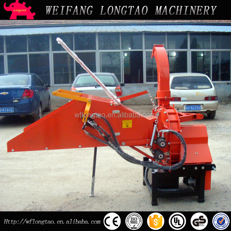 FACTORY DIRECTLY PRICE 3PL PTO WOOD CHIPPER 8 INCH WITH HDYRAULIC FEEDING