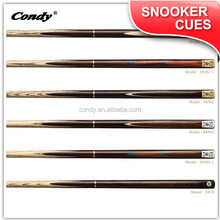 Condy Manufacturer supply 3/4 jointed billiard house cheap snooker cue stick
