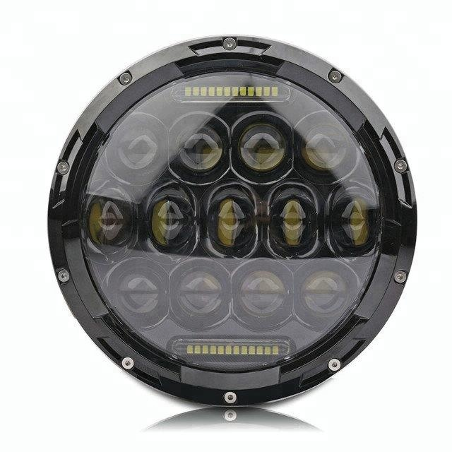 Car Accessories 75W SUV 7 Inch Led Front Headlight