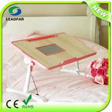 NBT-400 bed mate portable table with cooling fan and aluminum bar