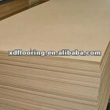 plain laminated MDF wood board 15mm E0 E1