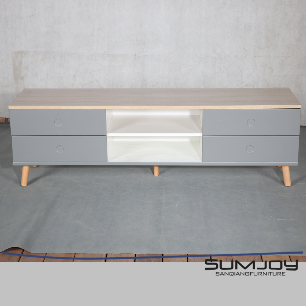 SUMJOY China Manufacturer Durable MDF Extension Tv Stand