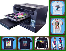 good quality multifunctional T-shirt printing machine/dtg printer/flated printer