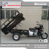LZSY Perfect Design Durable 150cc Air Cool Gasoline Power Three Wheel Cargo Motorcycle Cheap FOB Price